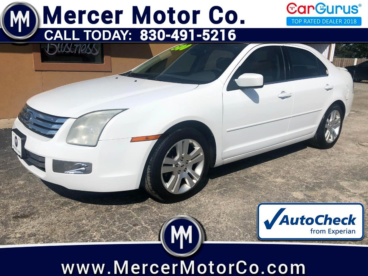 Ford Fusion 4dr Sdn V6 SEL AWD 2007