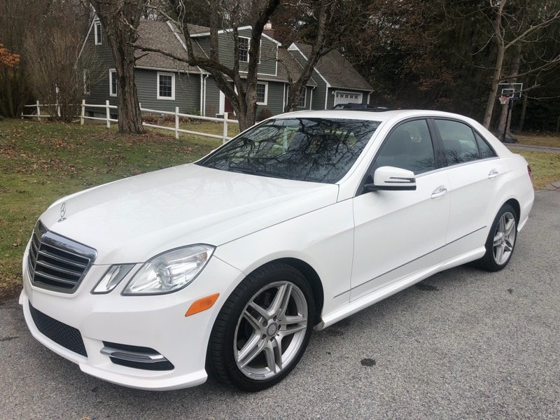 Mercedes-Benz E-Class E350 Sedan 2013