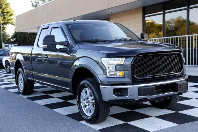 Ford F-150 Lariat SuperCab 8-ft. 4WD 2015