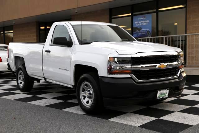 2018 Chevrolet Silverado 1500 Work Truck Long Box 2WD