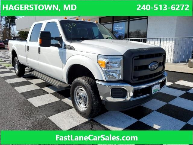 Ford F-350 SD XL Crew Cab Long Bed 4WD 2016