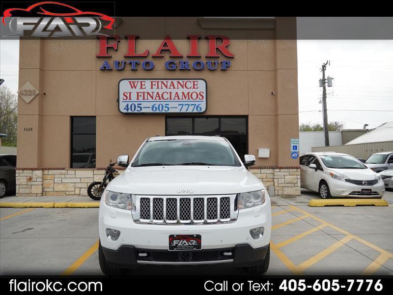 Jeep Grand Cherokee Overland 4WD 2013