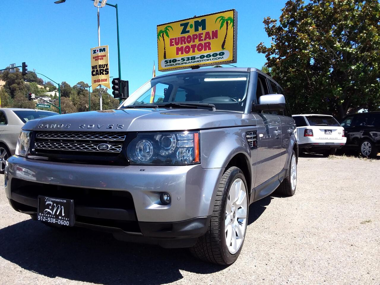 2013 Land Rover Range Rover Sport HSE LUXURY