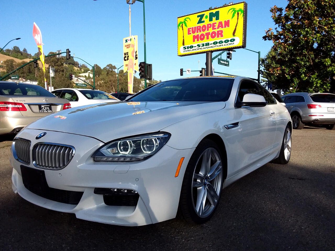 2012 BMW 6-Series 650i Coupe