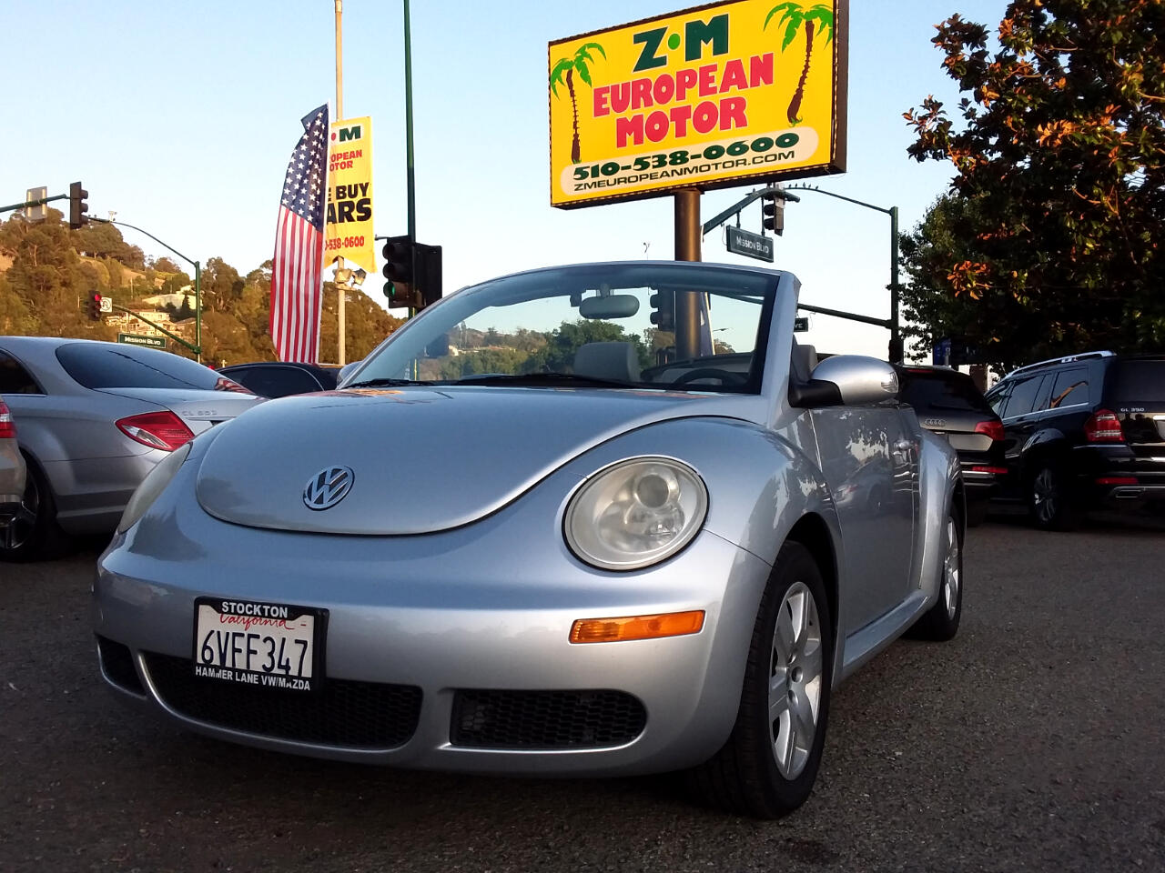 2007 Volkswagen New Beetle 2.5L PZEV Convertible