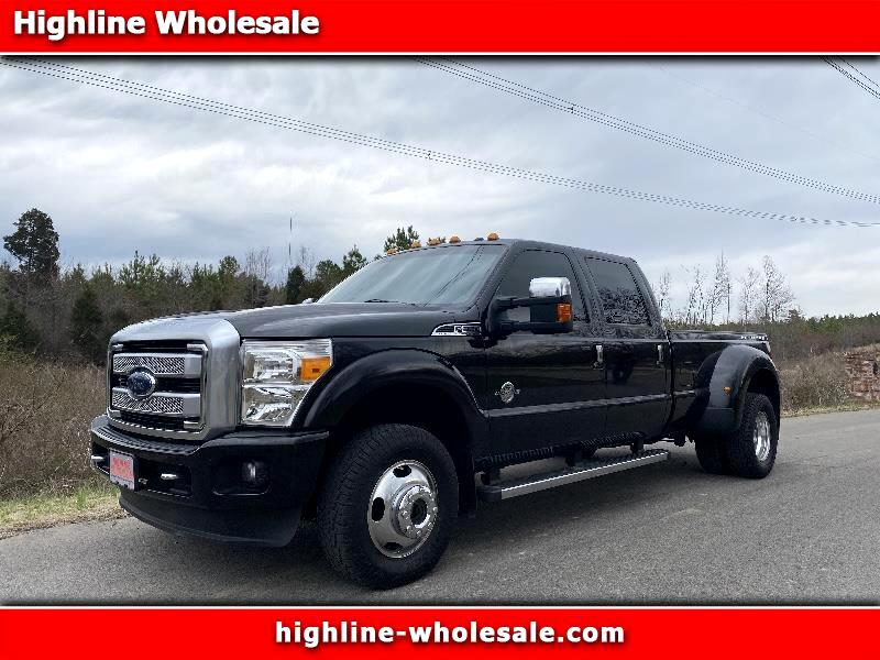 Ford F-350 SD Platinum Crew Cab Long Box 4WD DRW 2014
