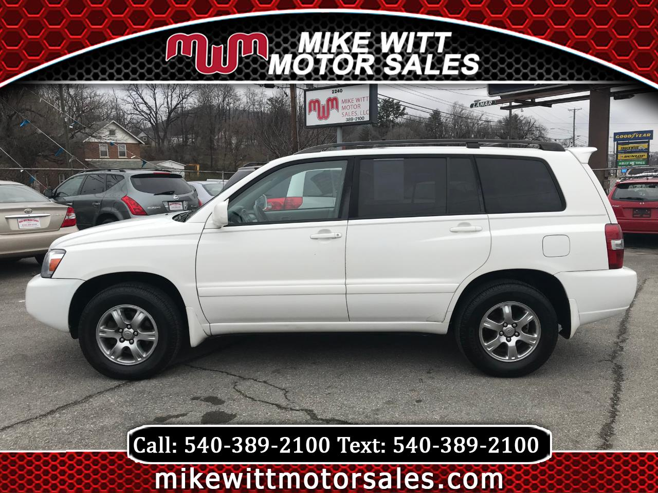 2007 Toyota Highlander Limited V6 4WD