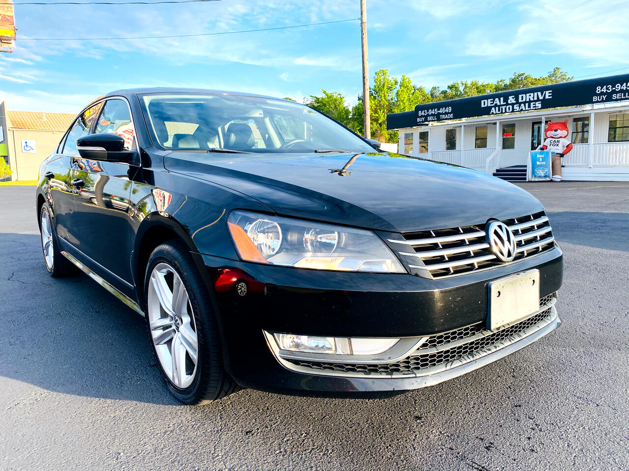 Volkswagen Passat 2.0L TDI SEL Premium 2013