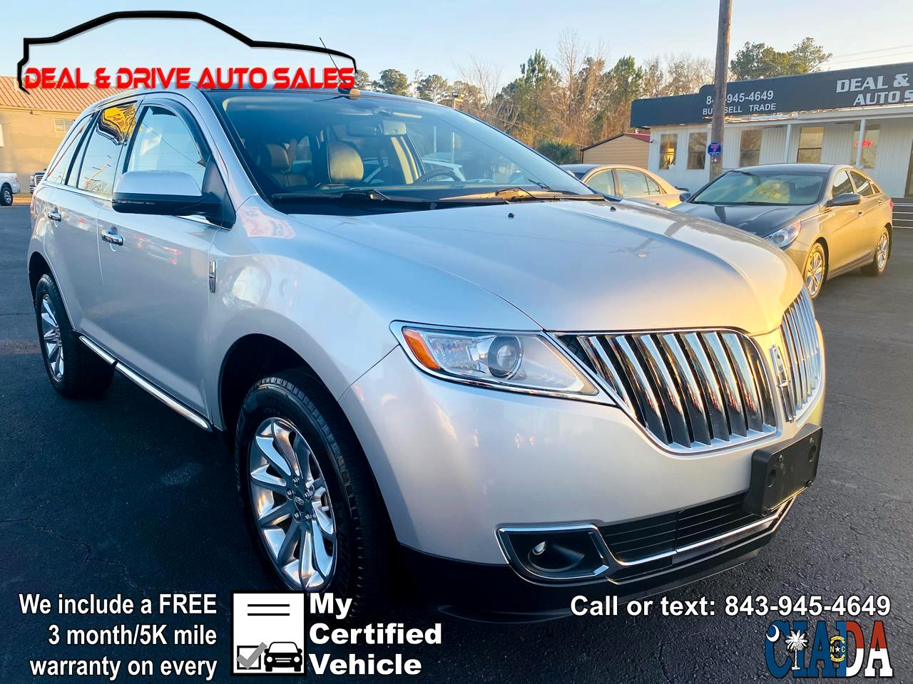 Lincoln MKX FWD 2014