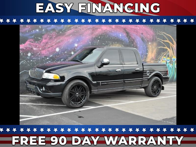 2002 Lincoln Blackwood Luxury Utility Vehicle