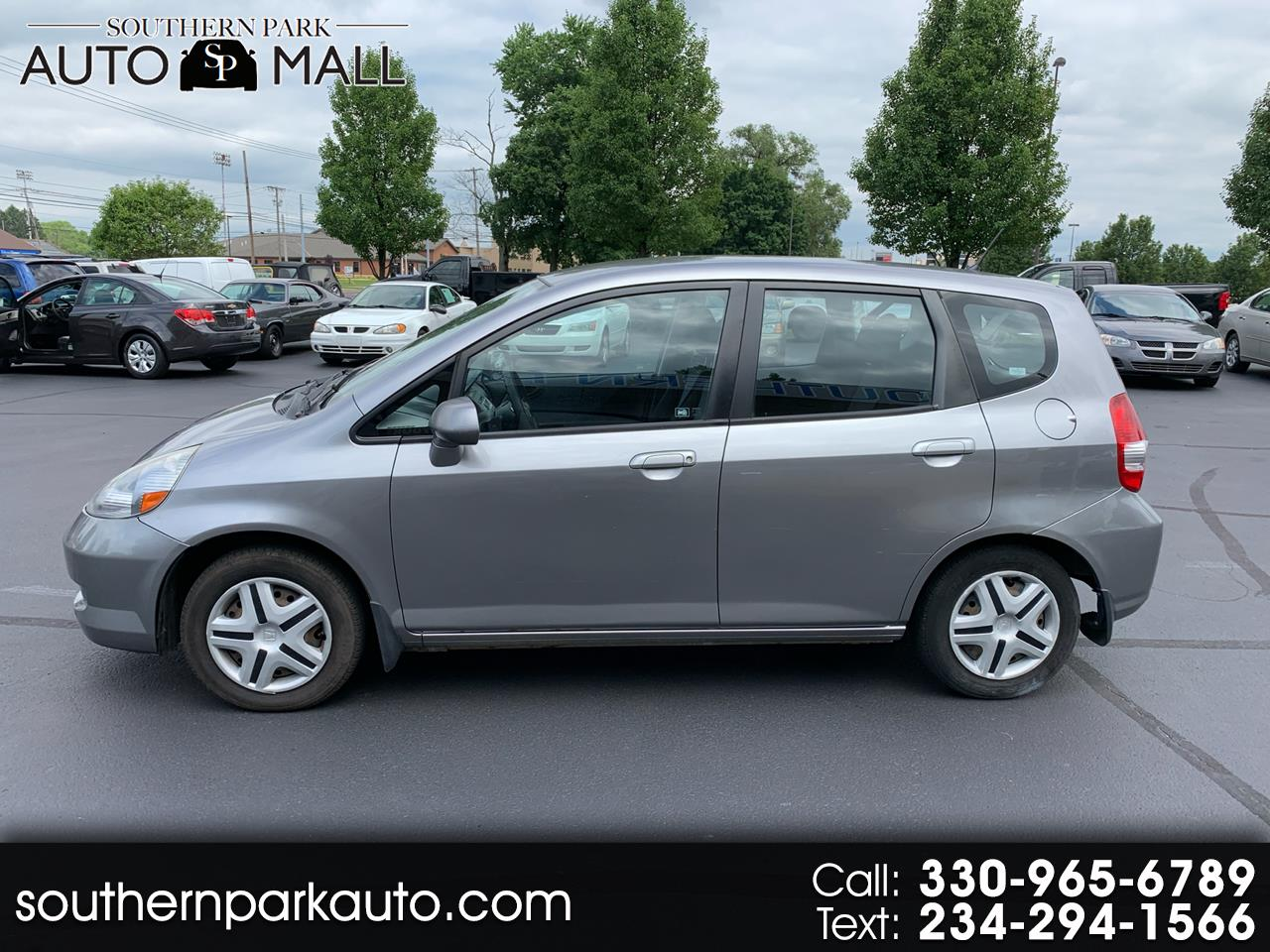 2008 Honda Fit 5-Speed MT
