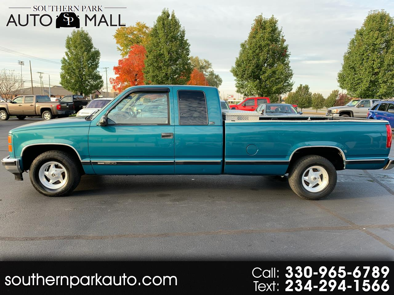 1997 GMC Sierra C/K 1500 Ext. Cab 8-ft. Bed 2WD