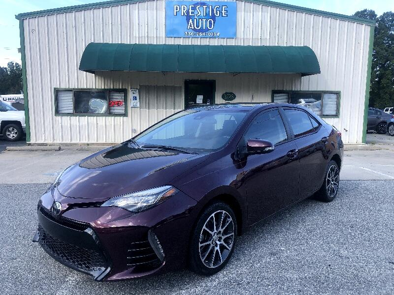 2017 Toyota Corolla 50th Anniversary Special Edition CVT