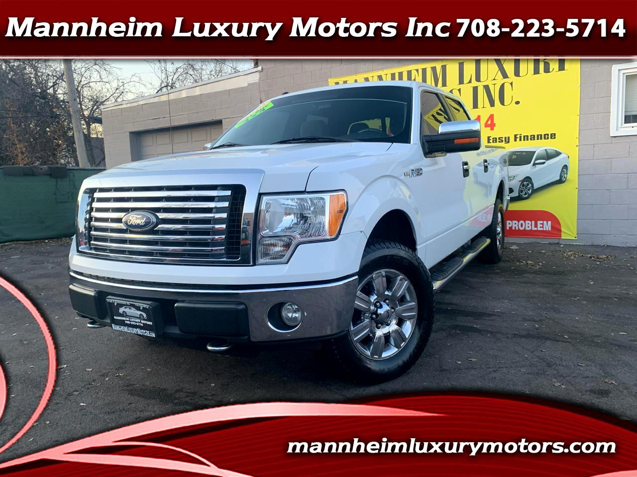 "Ford F-150 4WD SuperCrew 150"" XLT 2010"