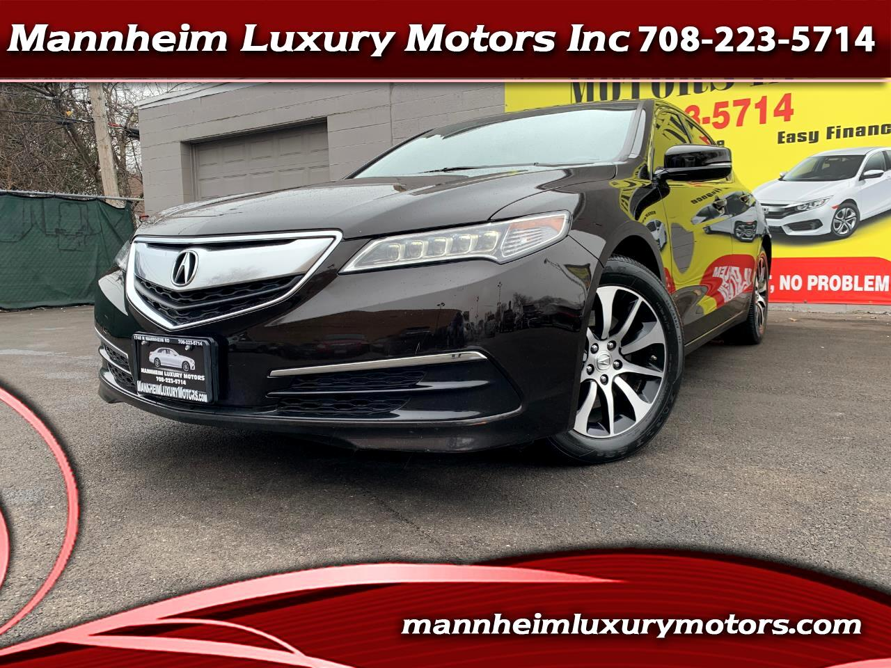 Acura TLX 4dr Sdn FWD 2016