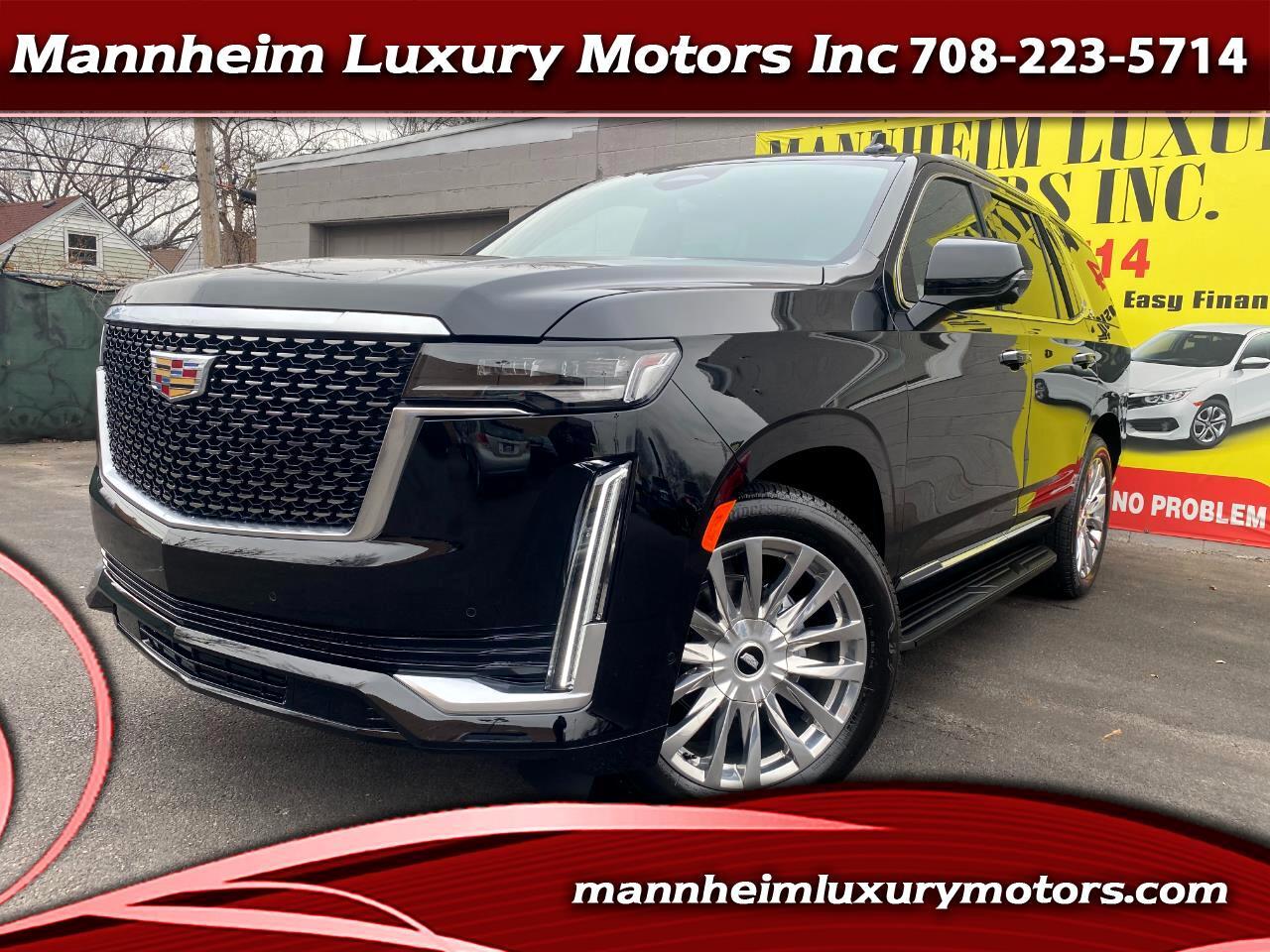 Cadillac Escalade 4WD 4dr Premium Luxury 2021