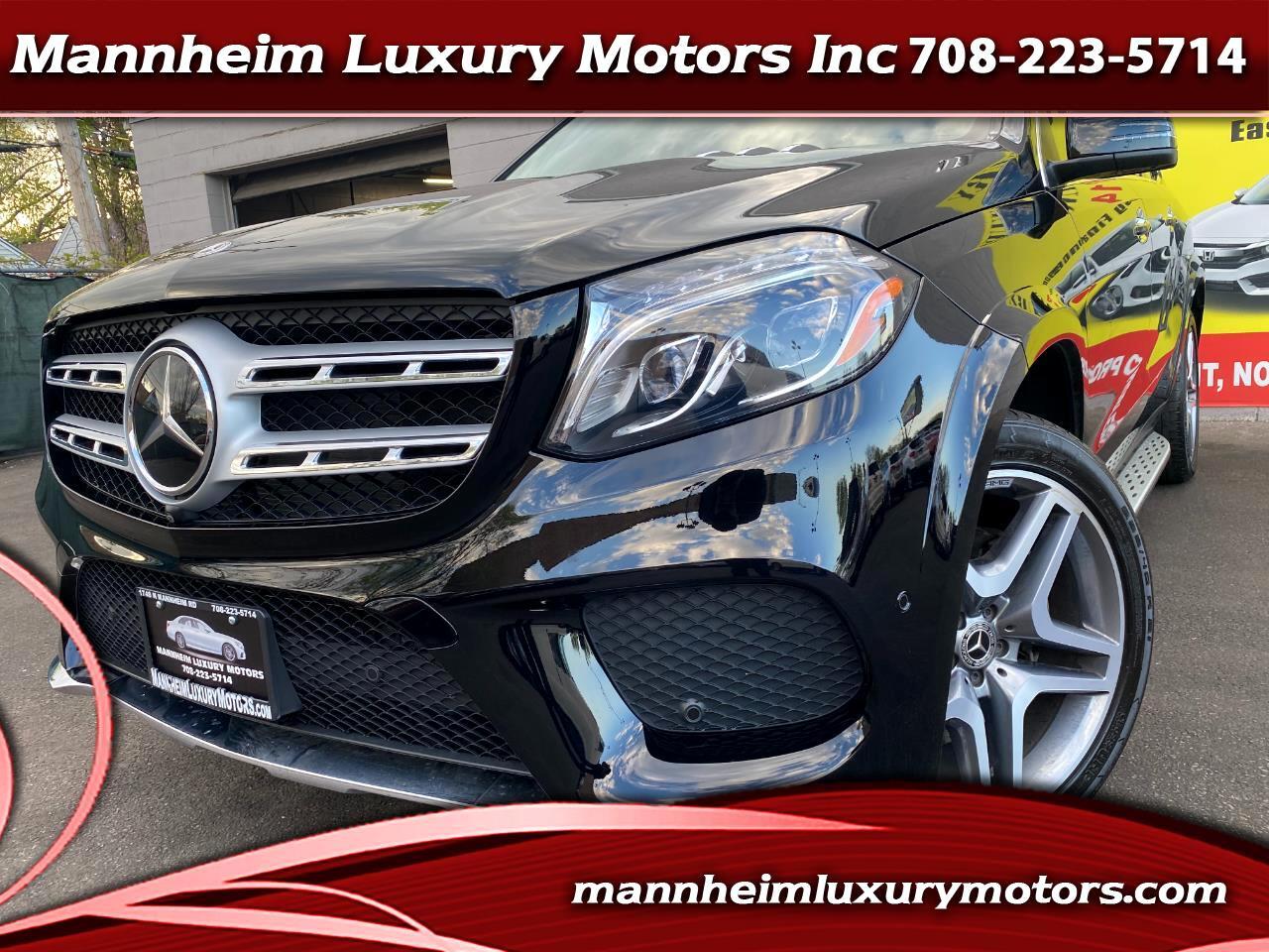 Mercedes-Benz GLS GLS 550 4MATIC SUV 2017