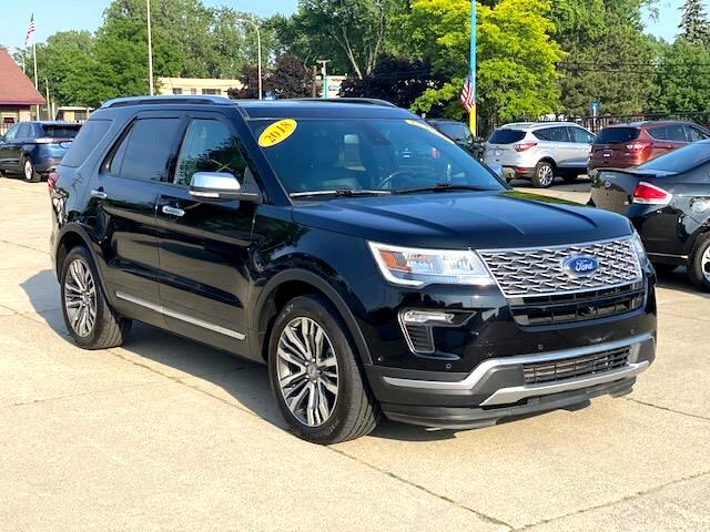 Ford Explorer Platinum AWD 2018