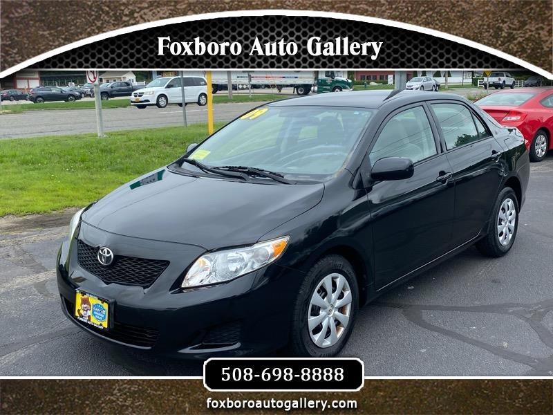 Toyota Corolla LE 4-Speed AT 2009
