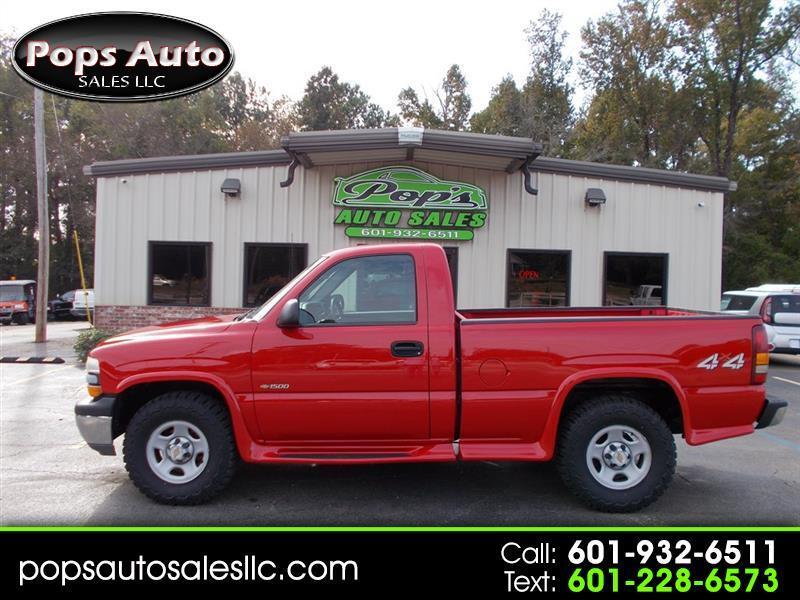 2002 Chevrolet Silverado 1500 LS Long Bed 4WD