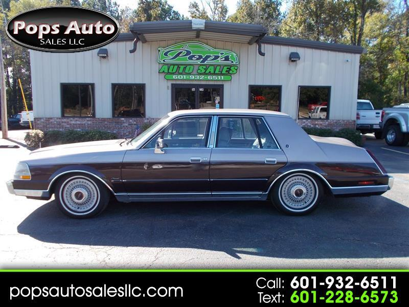 1986 Lincoln Continental Base