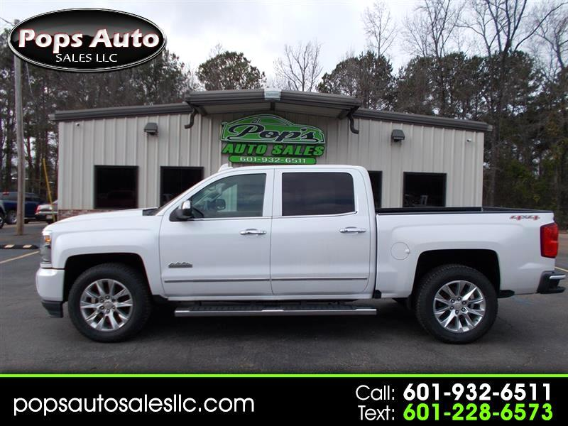 Chevrolet Silverado 1500 High Country Crew Cab Long Box 4WD 2016