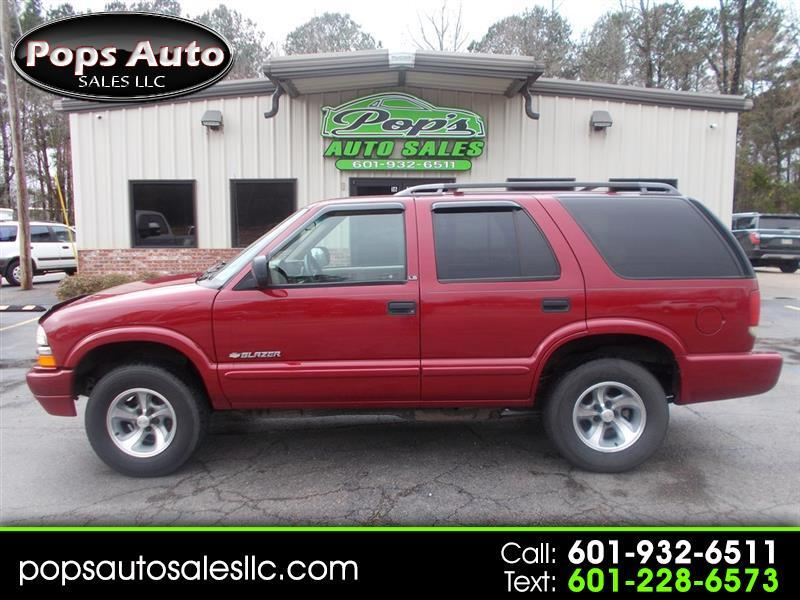 used 2002 chevrolet blazer sold in florence ms 39073 pops auto sales llc florence ms 39073 pops auto sales llc