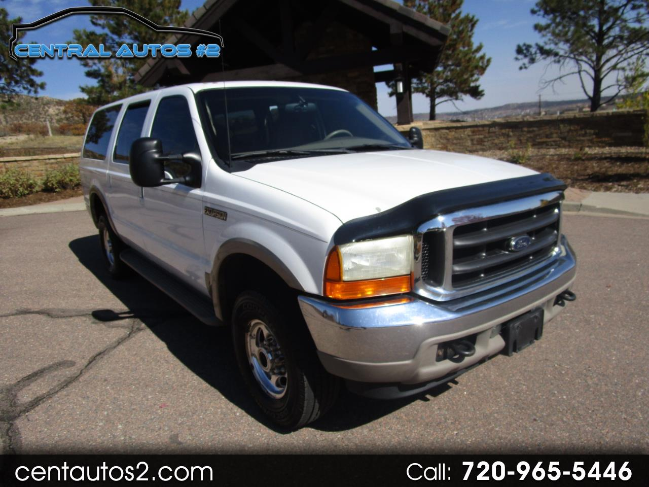 "Ford Excursion 137"" WB Limited 4WD 2001"