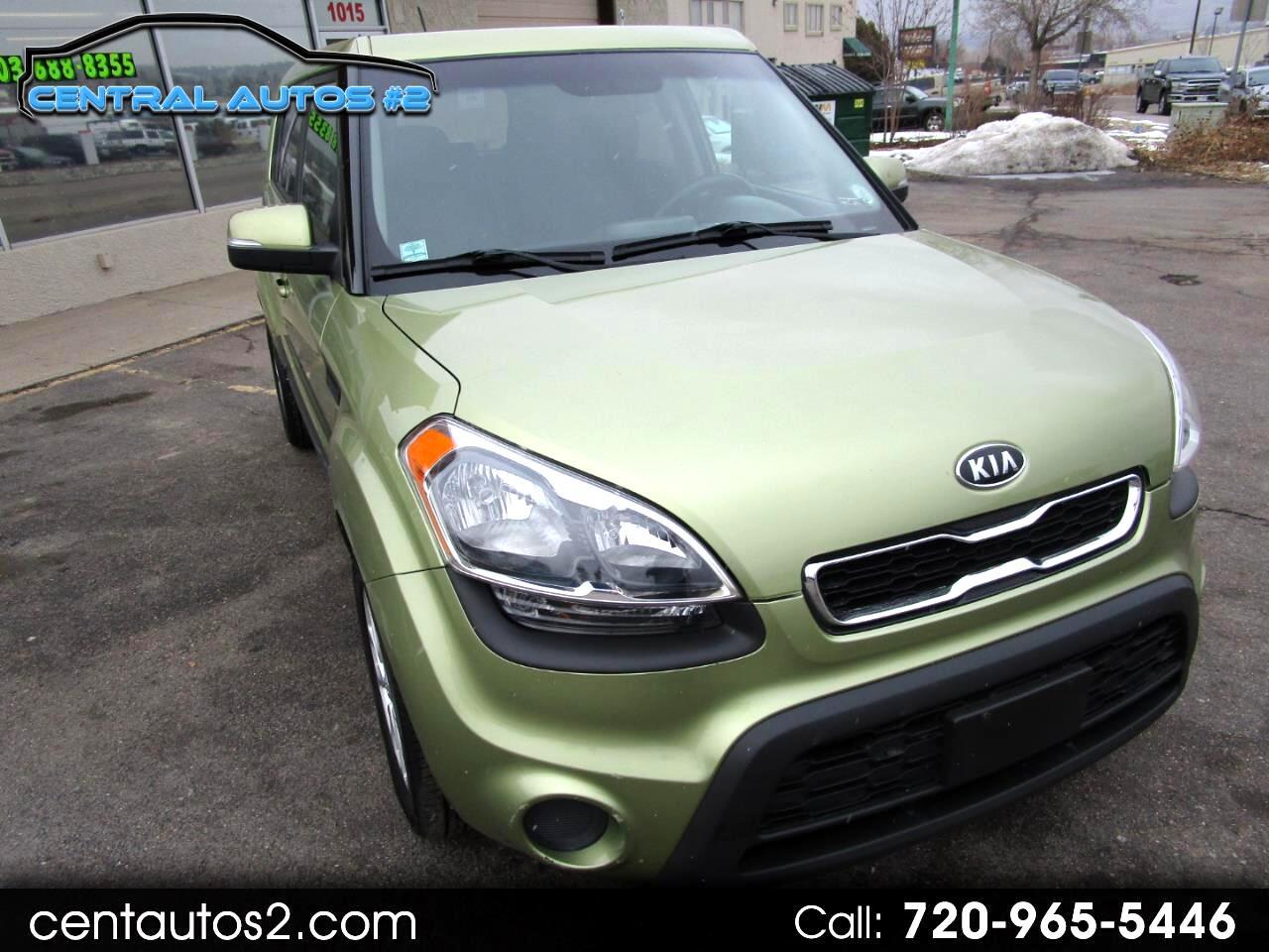 Kia Soul 5dr Wgn Auto + 2012