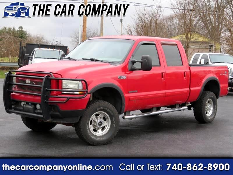 Ford F-250 SD Lariat Crew Cab Long Bed 4WD 2003