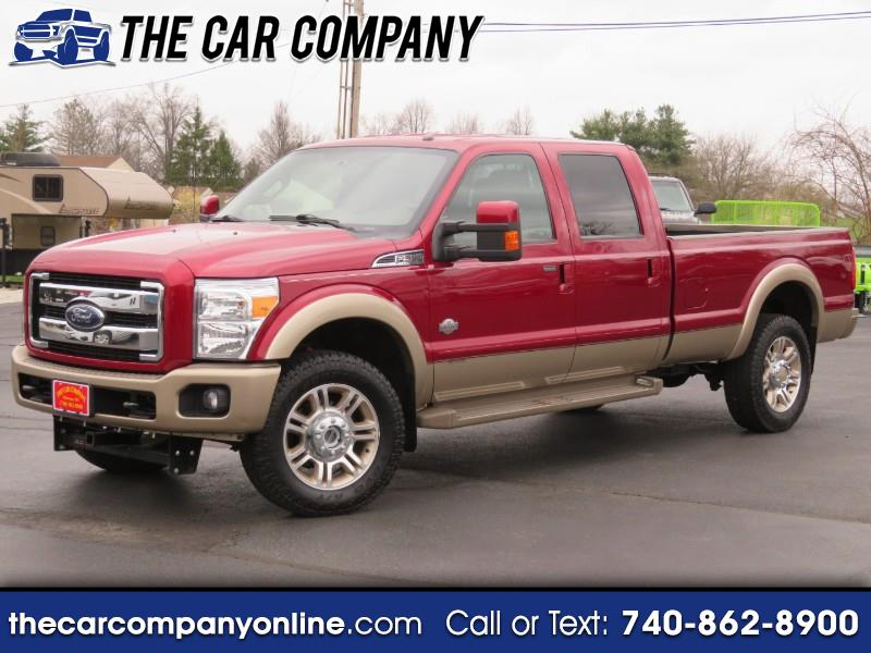 2014 Ford F-350 SD King Ranch Crew Cab Long Bed 4WD