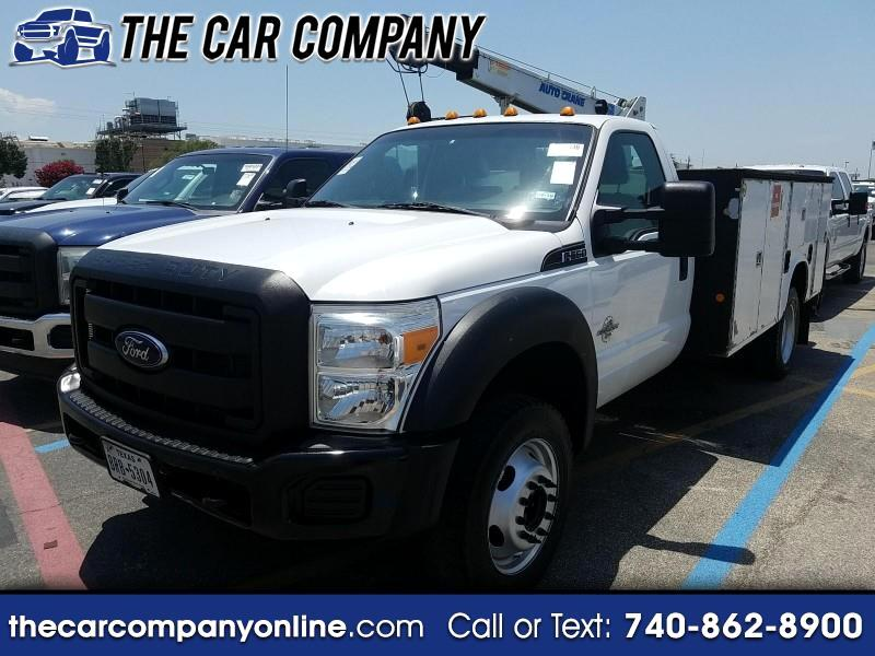 2012 Ford F-550 Regular Cab DRW 4WD