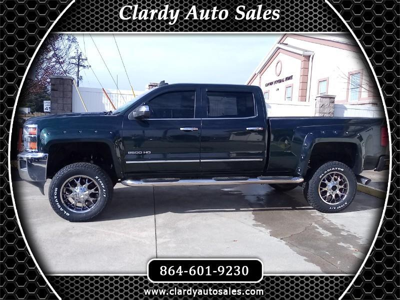 2015 Chevrolet Silverado 2500HD LTZ Crew Cab Long Box 4WD