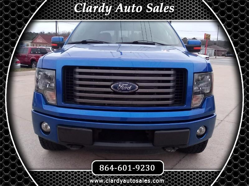 Ford F-150 FX4 SuperCrew 6.5-ft. Bed 4WD 2012