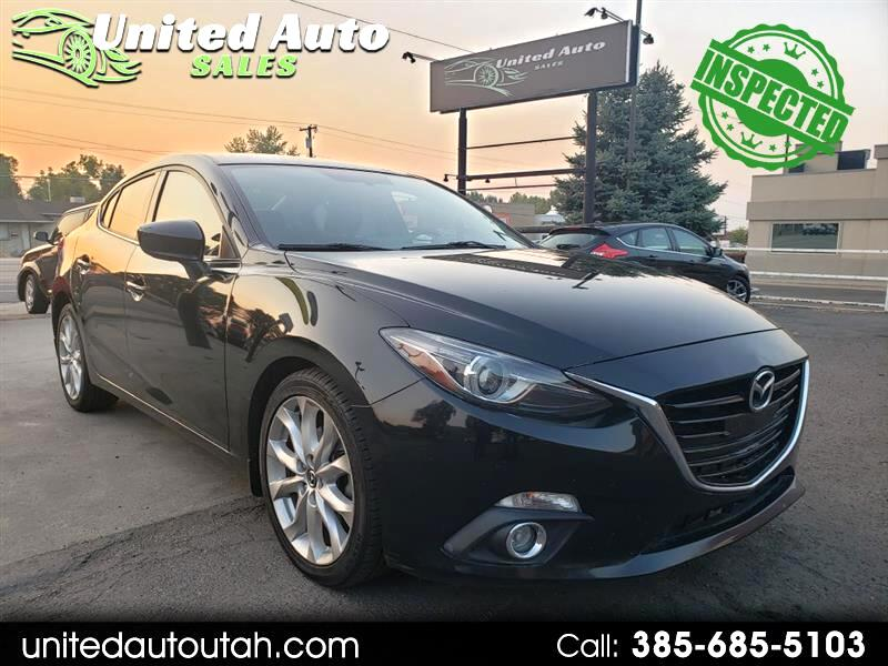 Mazda MAZDA3 s Touring AT 4-Door 2014