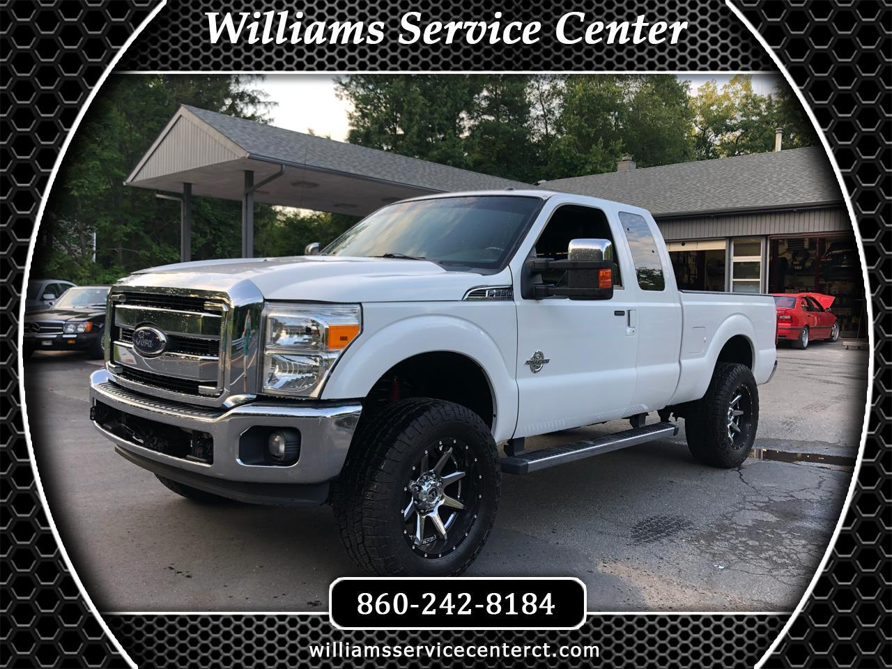 2012 Ford F-350 SD Lariat SuperCab Short Bed 4WD