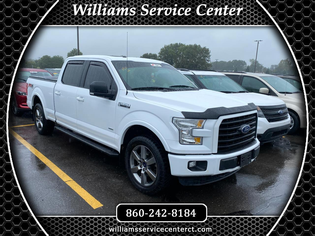 Ford F-150 Lariat SuperCrew 5.5-ft. Bed 4WD 2016
