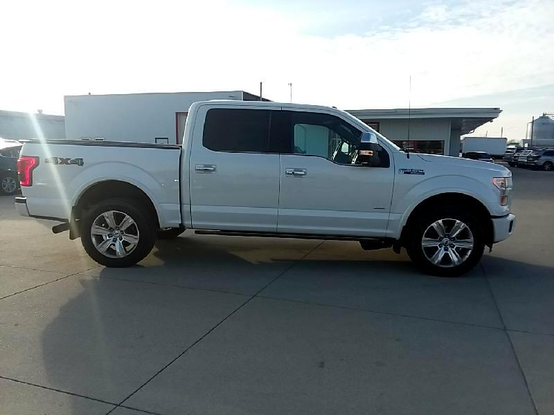 Ford F-150 Platinum SuperCrew 5.5-ft. Bed 4WD 2015