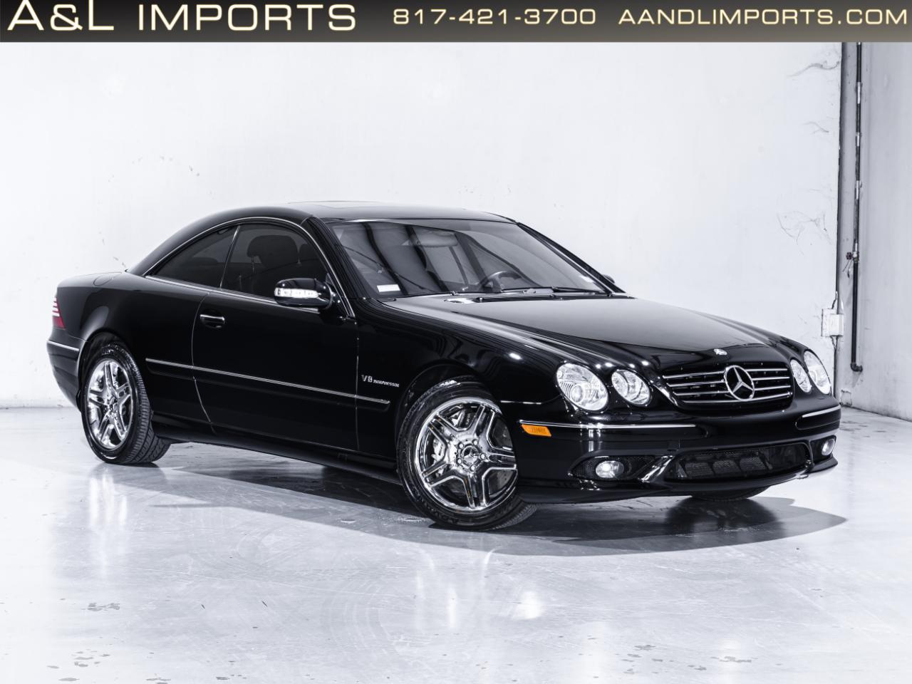 Mercedes-Benz CL-Class 2dr Cpe 5.5L AMG 2003