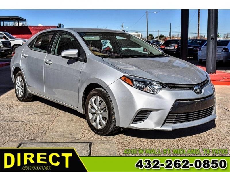 Toyota Of Midland >> Used 2016 Toyota Corolla S Premium Cvt For Sale In Midland