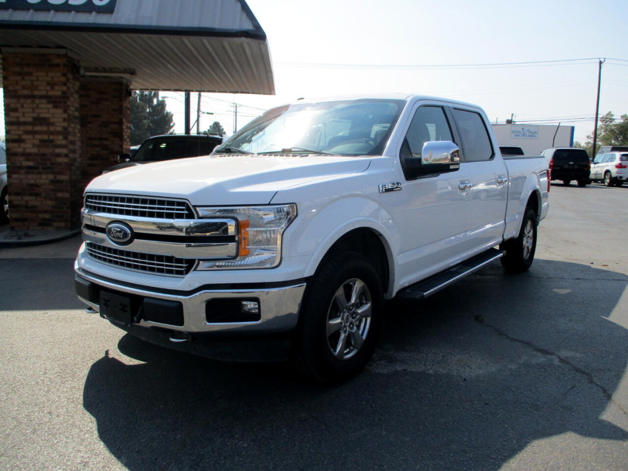 Ford F-150 Lariat SuperCrew Short Bed 4WD 2018