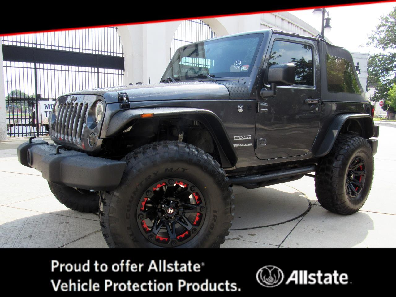 Used 2016 Jeep Wrangler 4wd 2dr Sport For Sale In Newark Nj 07104