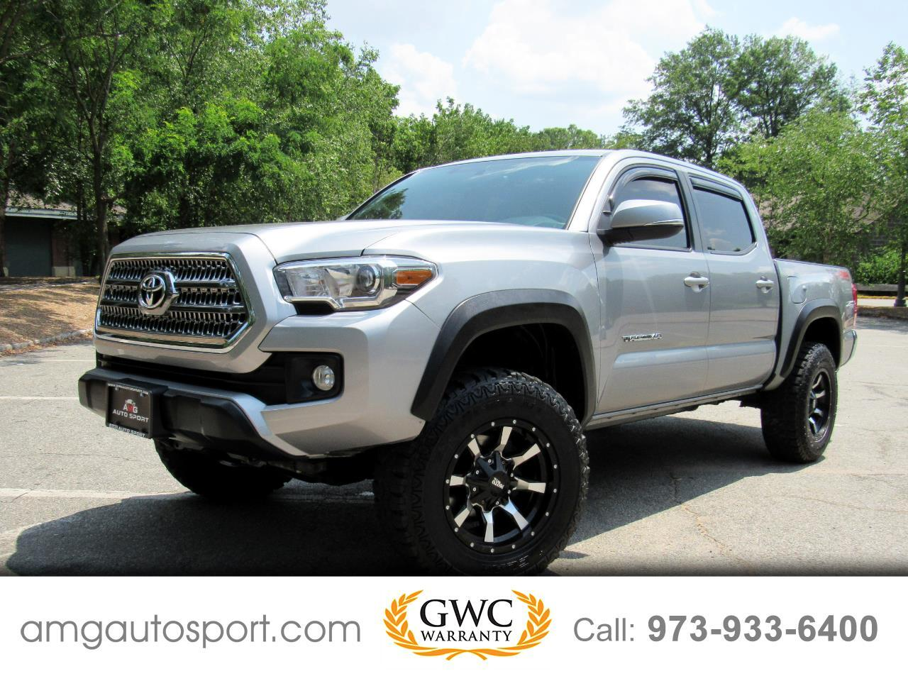 Toyota Tacoma TRD Off Road Double Cab 6' Bed V6 4x4 AT (Natl) 2017