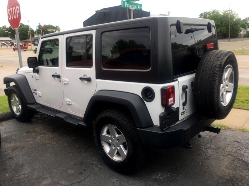 2015 Jeep Wrangler Unlimited Sport S 4x4