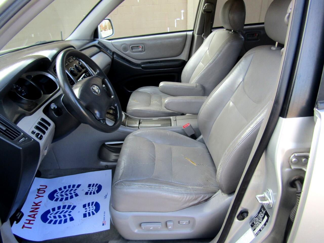 2003 Toyota Highlander V6 2WD