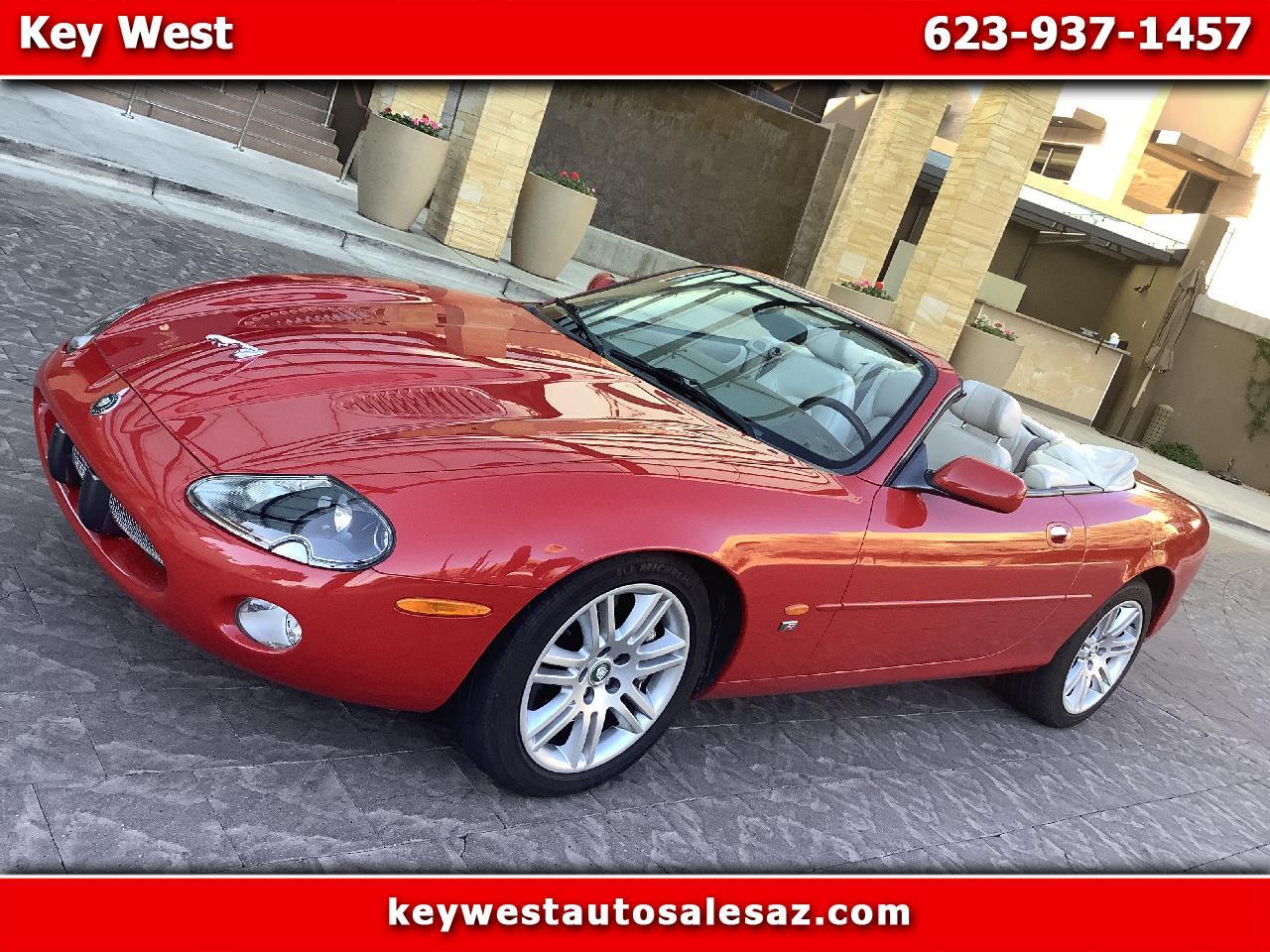 2003 Jaguar XK-Series XKR Convertible