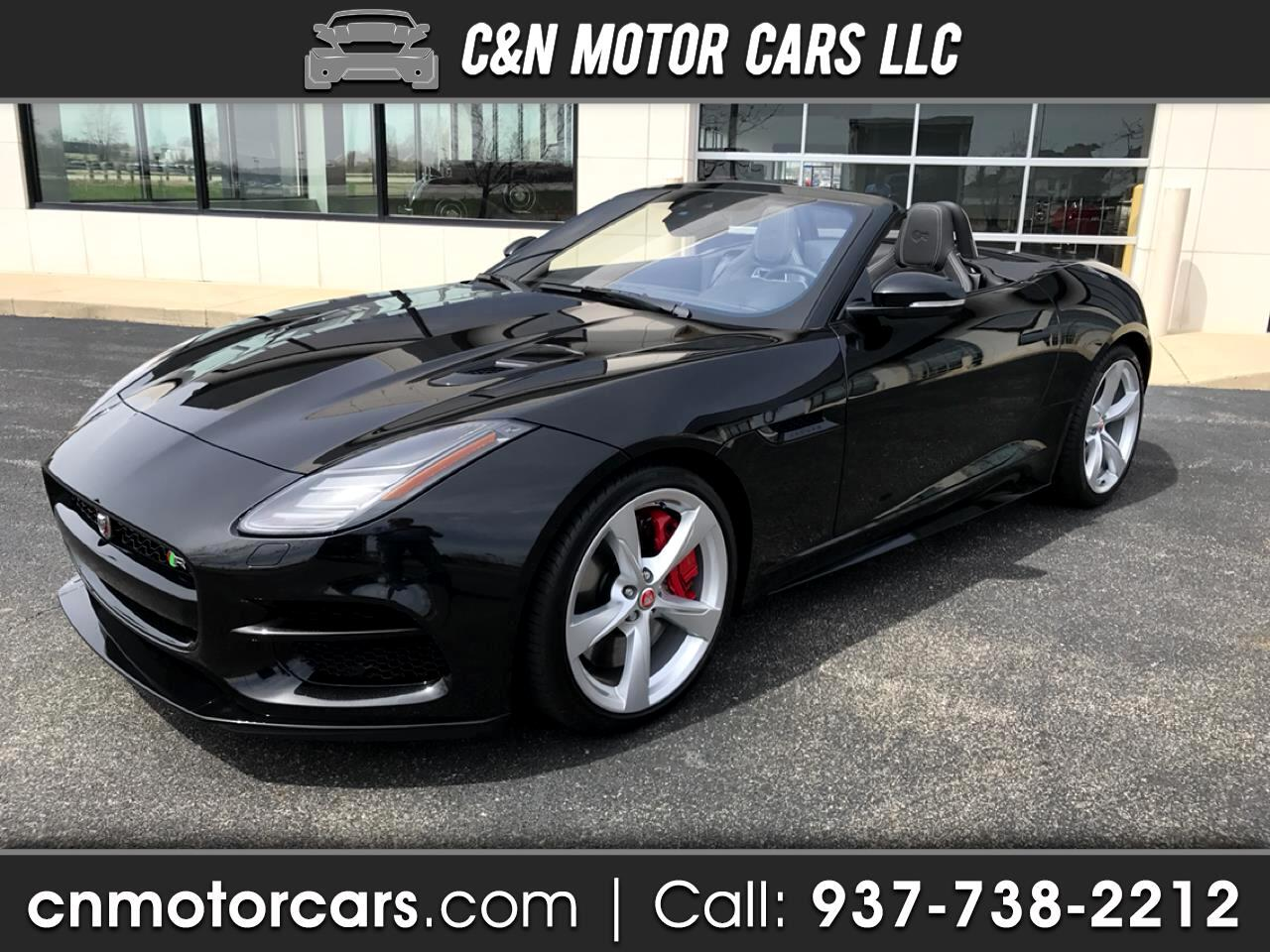 Jaguar F-Type R Convertible AWD 2018