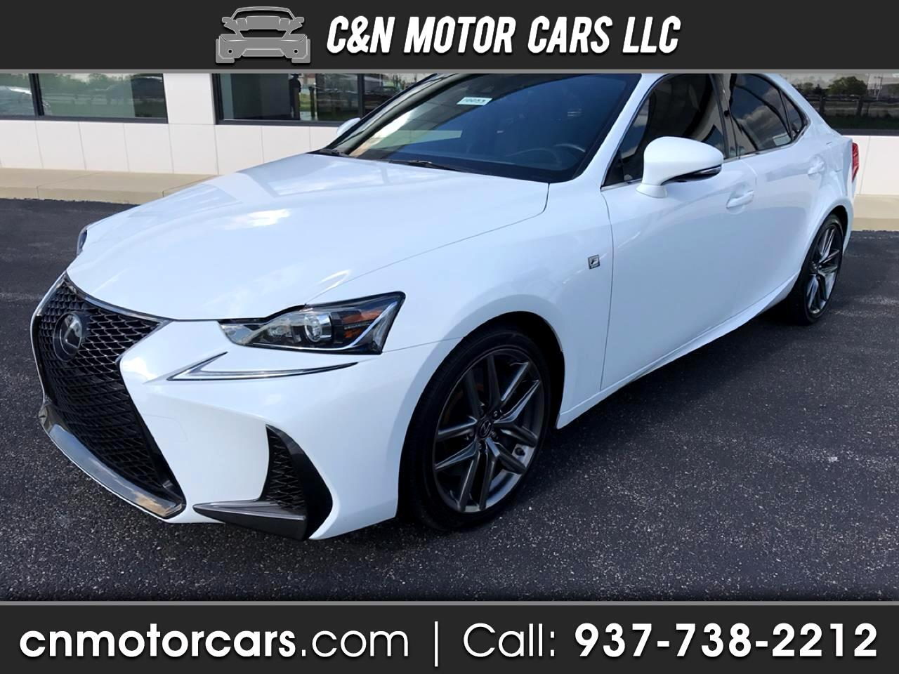 2017 Lexus IS 300 4dr Sport Sdn Auto