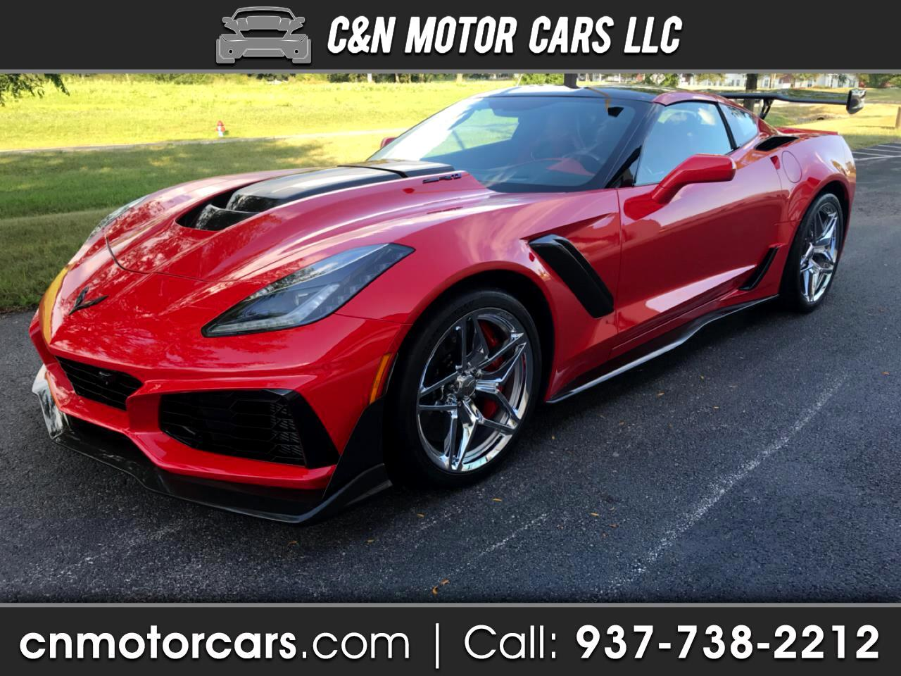 2019 Chevrolet Corvette ZR1 Premium 3ZR Coupe Manual