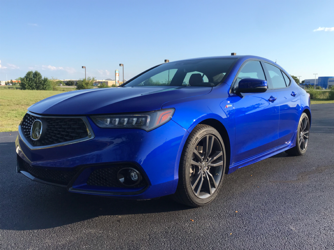 Acura TLX A-Spec Red 2.4L 2020